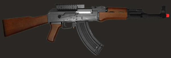 Airsoft AK-47 weapon