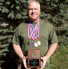 Jim Stewart wins national muzzleloader championship 2014 in Friendship, Indiana