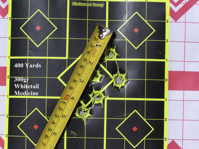 George Perry's 400 Yard Target